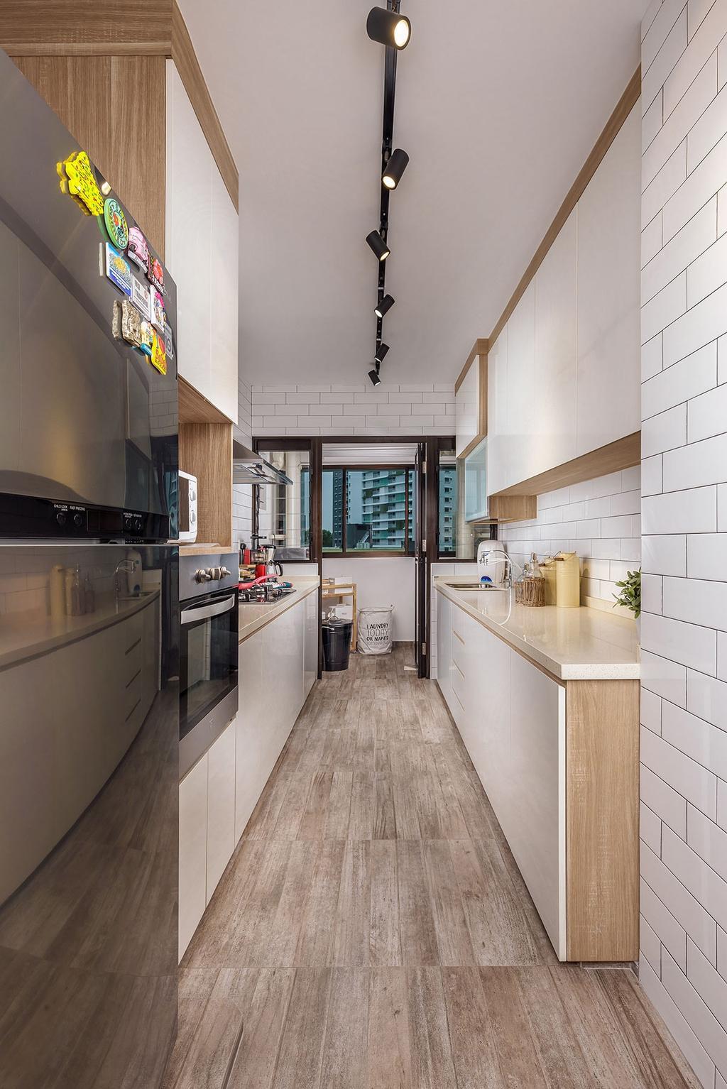 Eclectic, HDB, Kitchen, Tampines Avenue 8 (Block 868B), Interior Designer, Icon Interior Design, Indoors, Interior Design, Room
