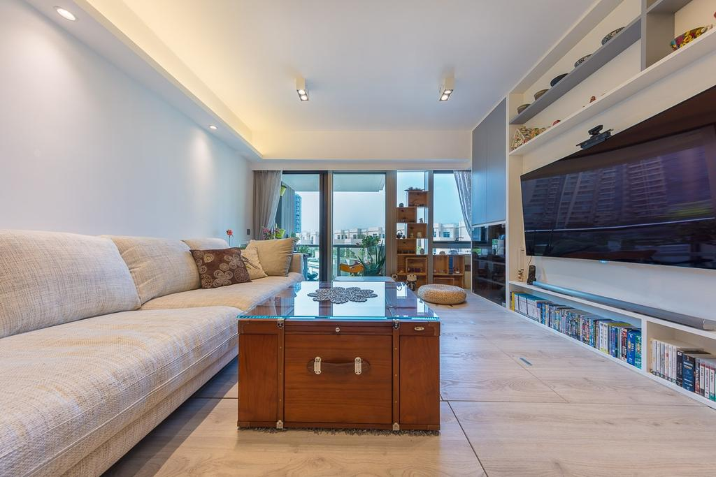 當代, 私家樓, 逸瓏灣, 室內設計師, am PLUS, Furniture, Indoors, Interior Design, Blackboard