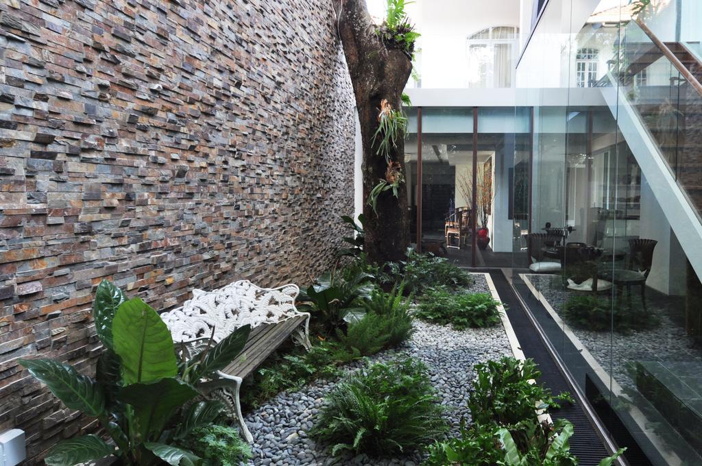 Traditional, Landed, Garden, Three Pavillion, Architect, KAIA Architects, Banister, Handrail
