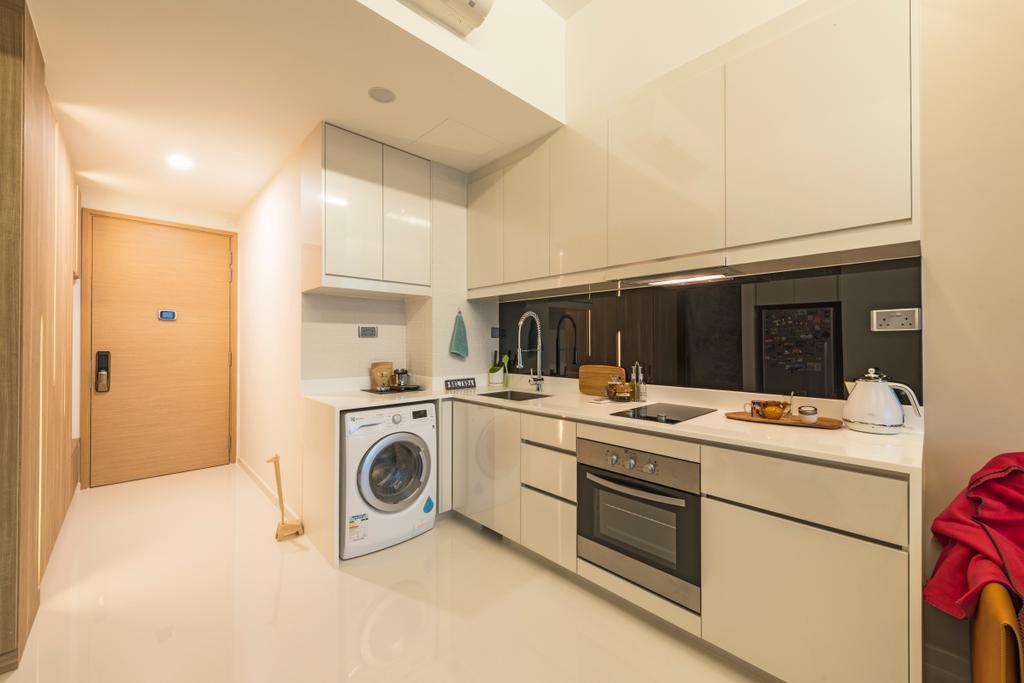 Modern, Condo, Kitchen, The Skywoods, Interior Designer, Artmuse Interior, Indoors, Interior Design, Room