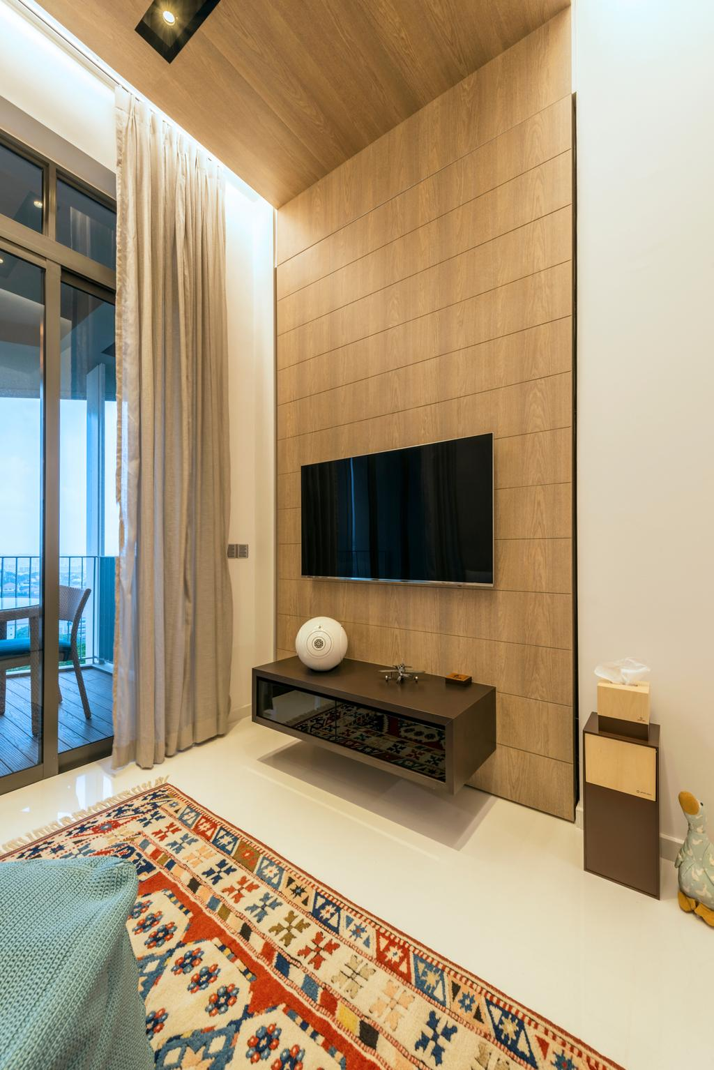 Modern, Condo, Living Room, The Skywoods, Interior Designer, Artmuse Interior, Sink