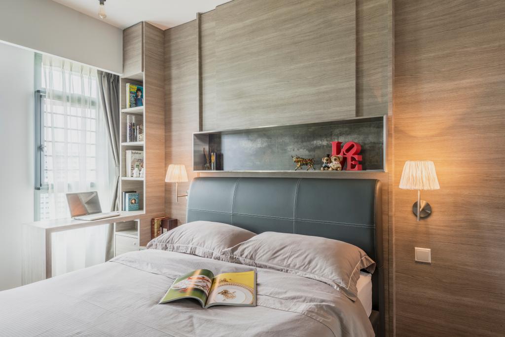 Minimalistic, Condo, Bedroom, The Terrace, Interior Designer, Artmuse Interior, Scandinavian