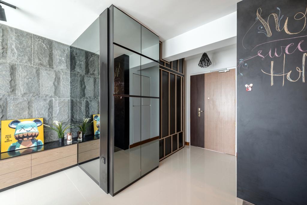 Minimalistic, Condo, Living Room, The Terrace, Interior Designer, Artmuse Interior, Scandinavian, Blackboard, Art, Mural, Painting