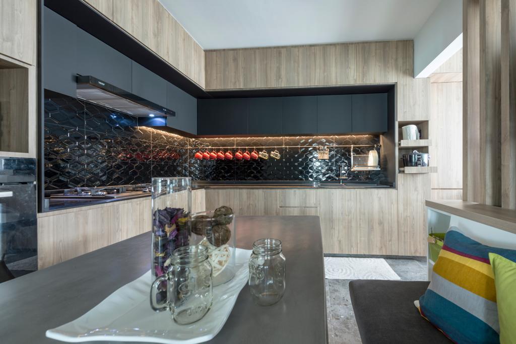 Minimalistic, Condo, Dining Room, The Terrace, Interior Designer, Artmuse Interior, Scandinavian, Couch, Furniture