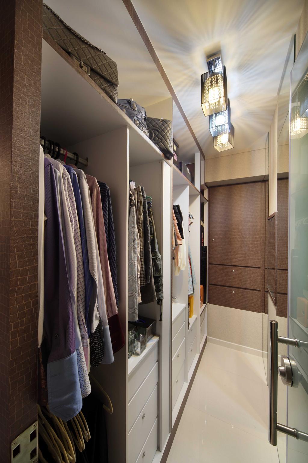 Traditional, Condo, Bedroom, The Peak B (Block 139A), Interior Designer, De Exclusive Design Group, Apparel, Clothing