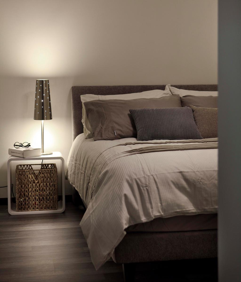 Modern, HDB, Bedroom, Segar Road (Block 479), Interior Designer, De Exclusive Design Group, Bed, Furniture, Couch