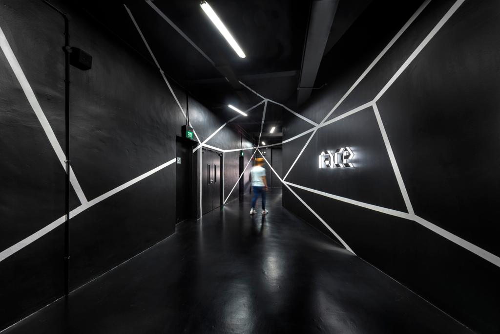 Race Robotics Lab, Commercial, Architect, Ministry of Design, Industrial, Tunnel, Lighting