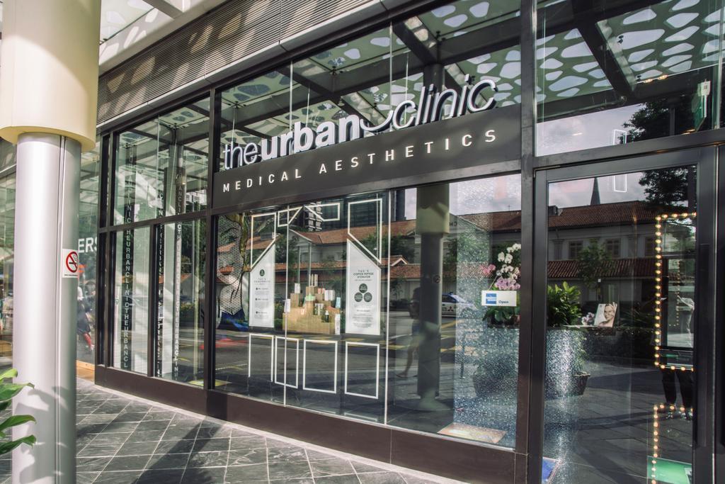 The Urban Clinic, Commercial, Interior Designer, Urban Habitat Design, Transitional, Door, Revolving Door, Cafe, Restaurant