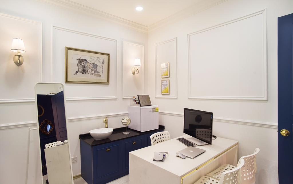 The Urban Clinic, Commercial, Interior Designer, Urban Habitat Design, Transitional, Bathroom, Indoors, Interior Design, Room, Sink