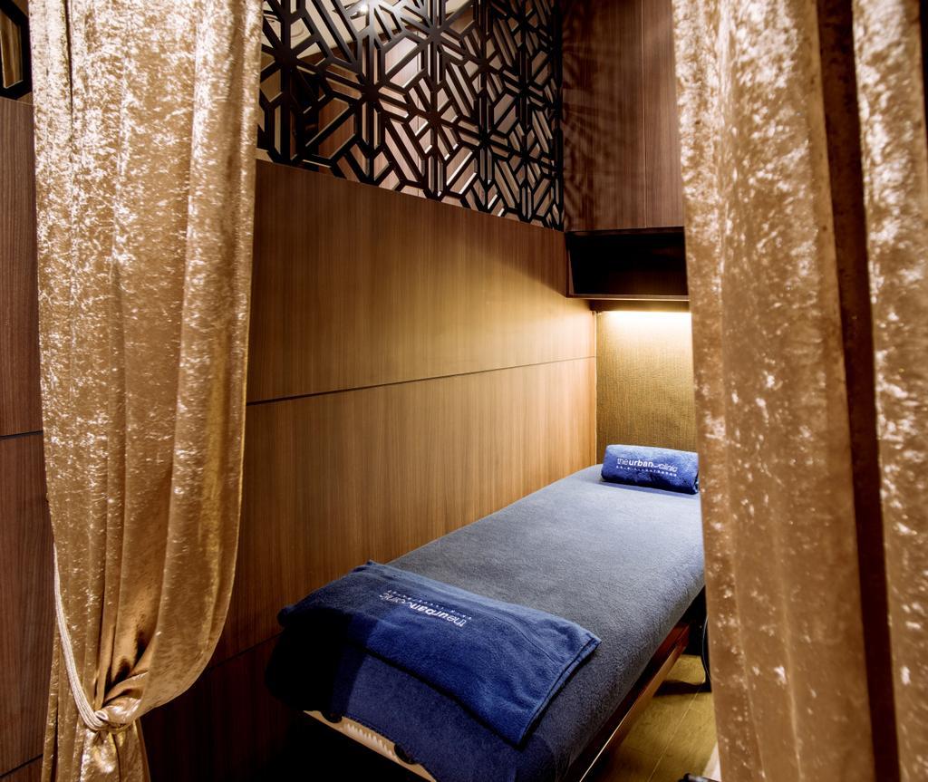 The Urban Clinic, Commercial, Interior Designer, Urban Habitat Design, Transitional, Curtain, Home Decor