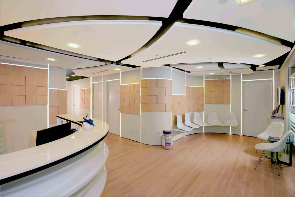 The Chelsea Clinic, Commercial, Interior Designer, Urban Habitat Design, Modern, Hardwood, Wood