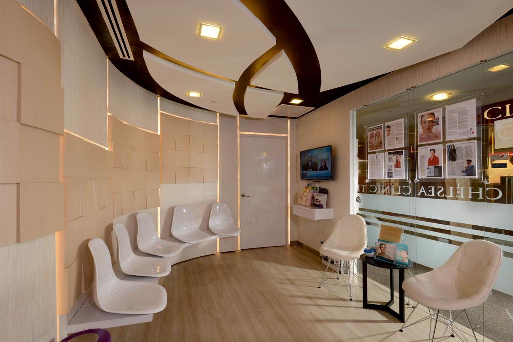 The Chelsea Clinic, Commercial, Interior Designer, Urban Habitat Design, Modern, Chair, Furniture