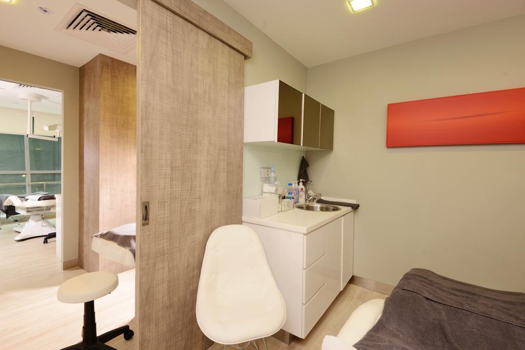 The Chelsea Clinic, Commercial, Interior Designer, Urban Habitat Design, Modern, Home Decor, Linen, Bathroom, Indoors, Interior Design, Room