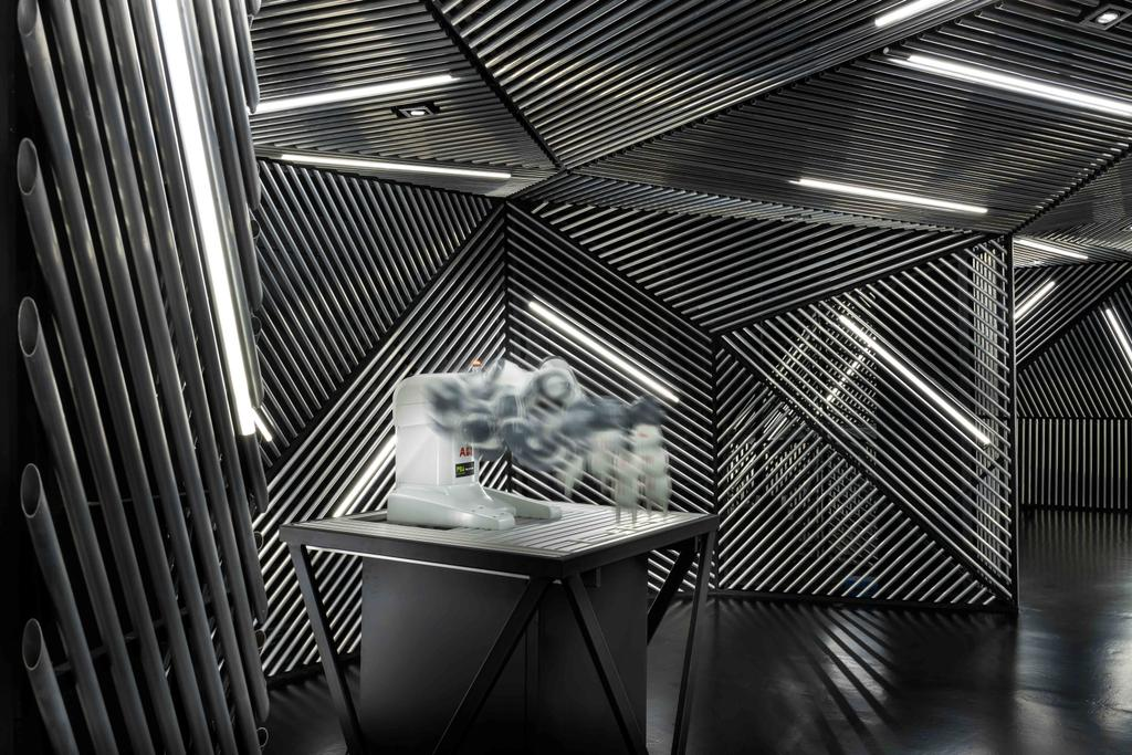 Race Robotics Lab, Commercial, Architect, Ministry of Design, Industrial, Chair, Furniture, Triangle