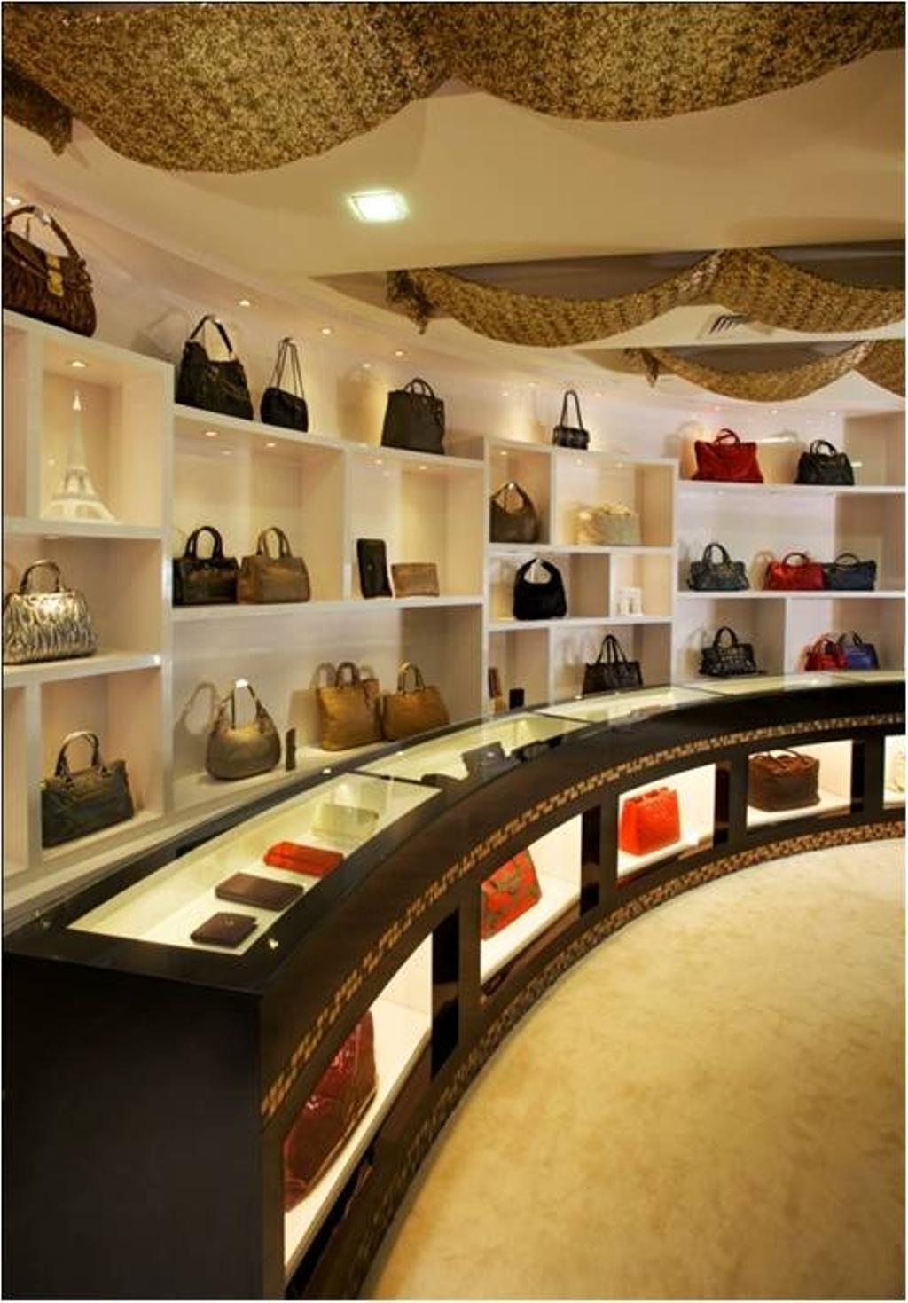 The Luxury Galleria, Commercial, Interior Designer, Urban Habitat Design, Modern, Vintage, Accessories, Bag, Handbag, Purse, Shop