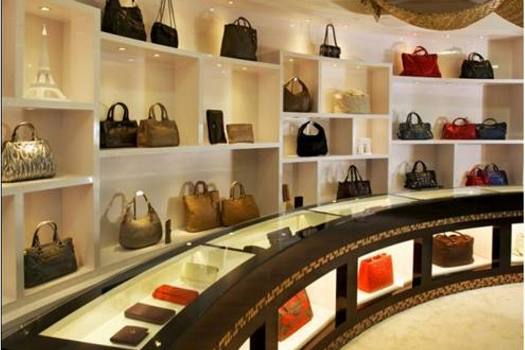 The Luxury Galleria, Urban Habitat Design, Modern, Vintage, Commercial, Accessories, Bag, Handbag, Purse, Shop