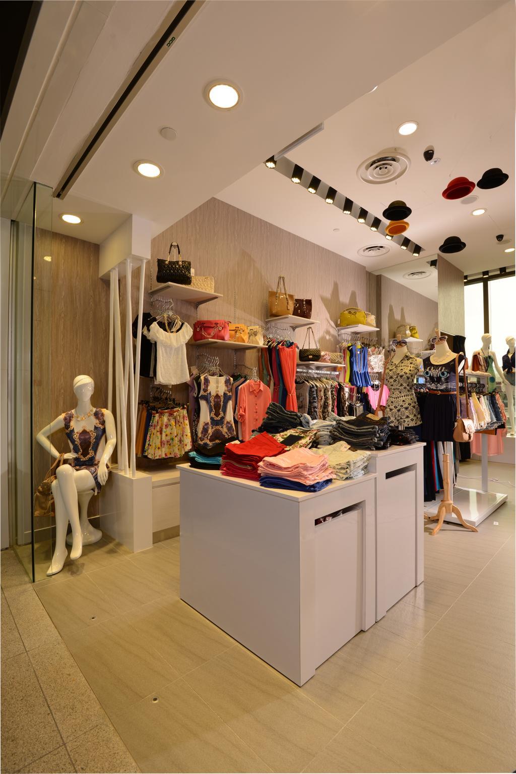 The D.X.E, Commercial, Interior Designer, Urban Habitat Design, Modern, Human, People, Person, Mannequin, Boutique, Shop