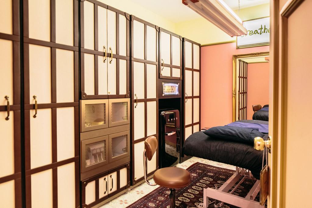 Strip & Browhaus, Commercial, Interior Designer, Urban Habitat Design, Traditional, Modern, Chair, Furniture