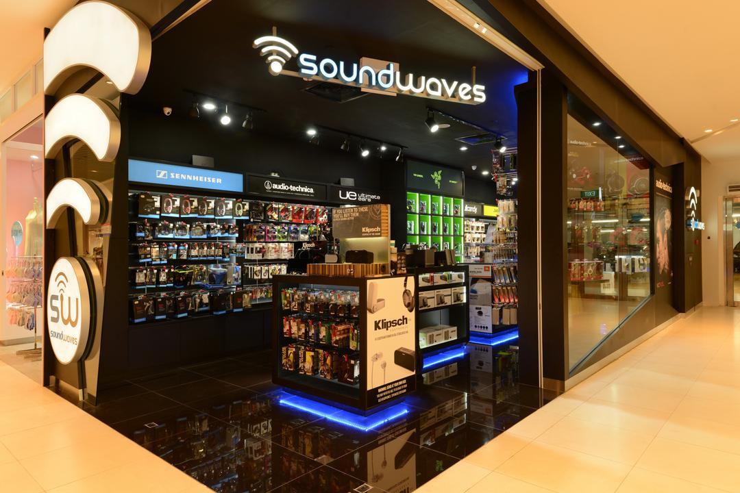 Soundwaves, Urban Habitat Design, Eclectic, Commercial, Kiosk