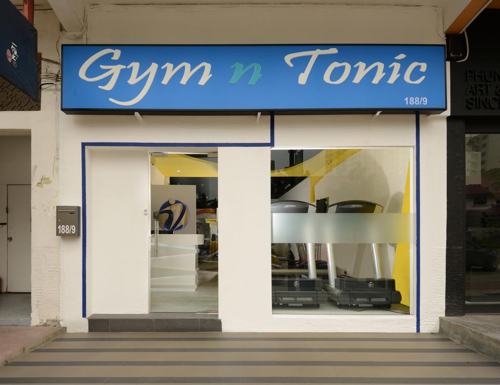 Gym & Tonic, Commercial, Interior Designer, Urban Habitat Design, Modern, Shop
