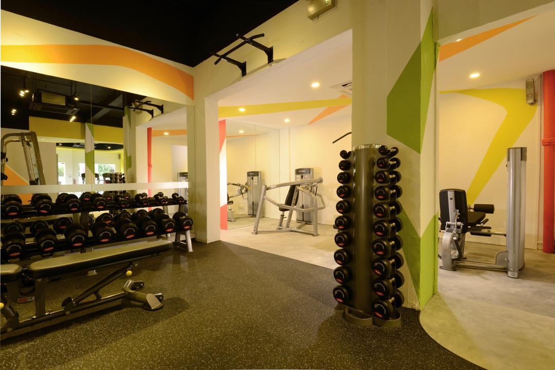 Gym & Tonic, Urban Habitat Design, Modern, Commercial, Exercise, Fitness, Gym, Sport, Sports, Working Out