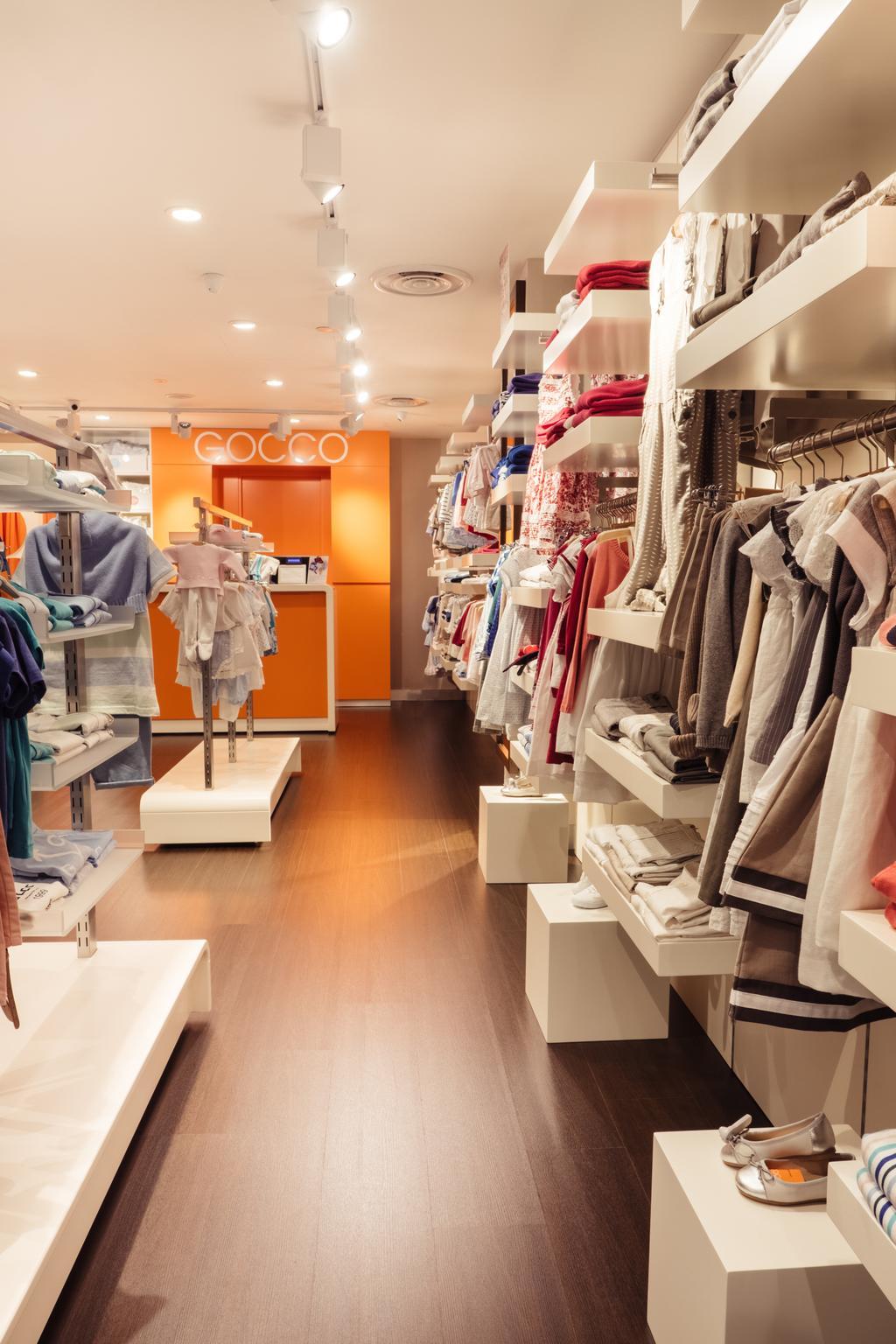 Gocco, Commercial, Interior Designer, Urban Habitat Design, Modern, Human, People, Person, Closet, Apparel, Clothing