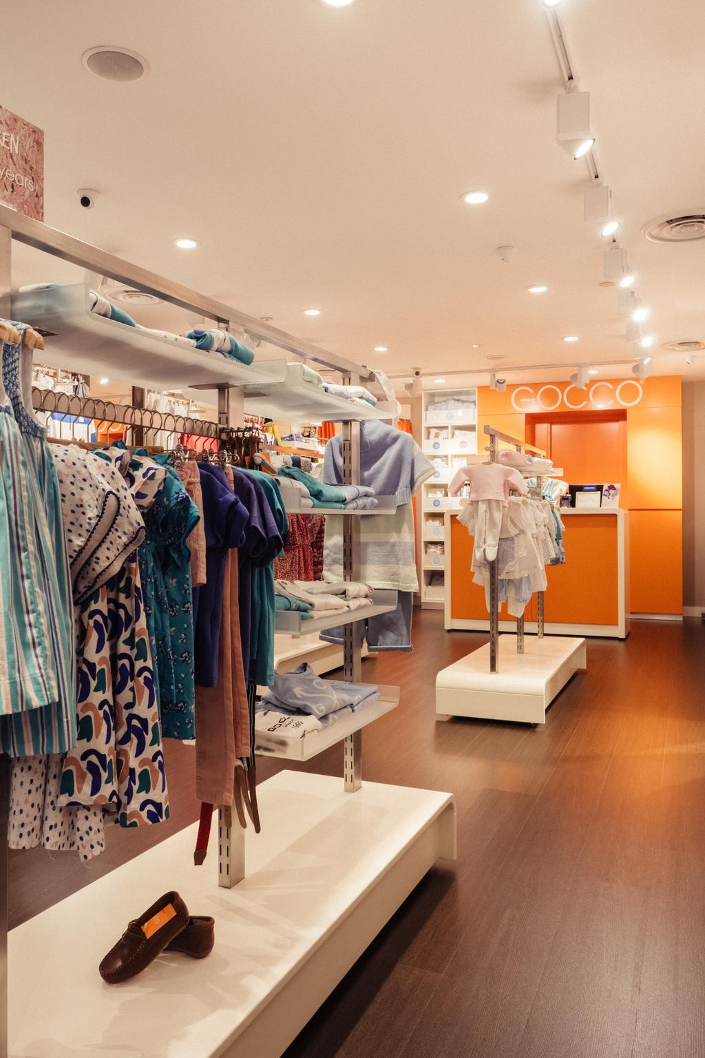 Gocco, Commercial, Interior Designer, Urban Habitat Design, Modern, Human, People, Person, Boutique, Shop, Apparel, Clothing