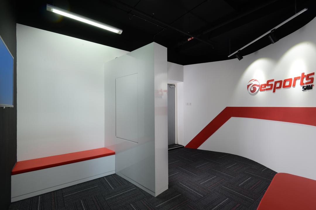 Garena E Sports, Urban Habitat Design, Modern, Commercial, HDB, Building, Housing, Indoors, Loft, Inflatable