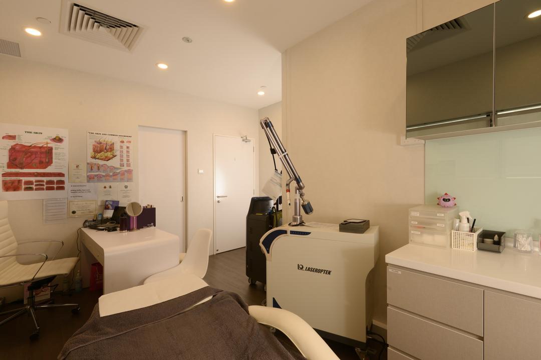 Gangnam Clinic, Urban Habitat Design, Modern, Commercial, Sink, Menu, Text, HDB, Building, Housing, Indoors