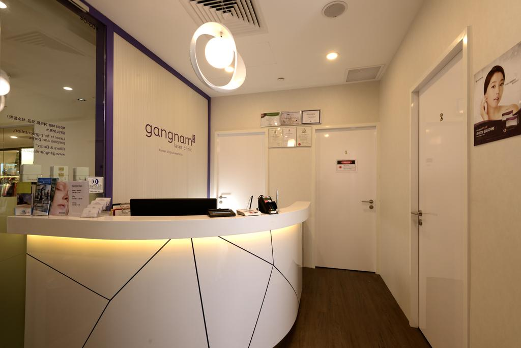 Gangnam Clinic, Commercial, Interior Designer, Urban Habitat Design, Modern, Lighting, Light Fixture