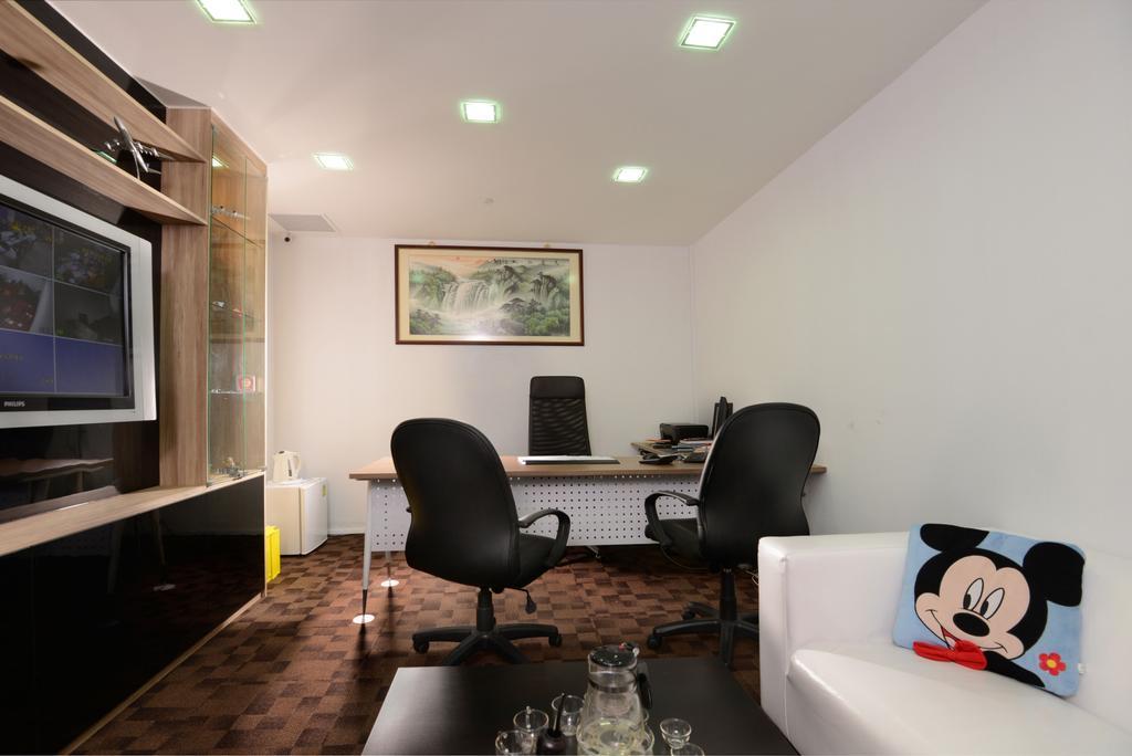CS Travel, Commercial, Interior Designer, Urban Habitat Design, Modern, Chair, Furniture, Electronics, Entertainment Center, Art, Art Gallery