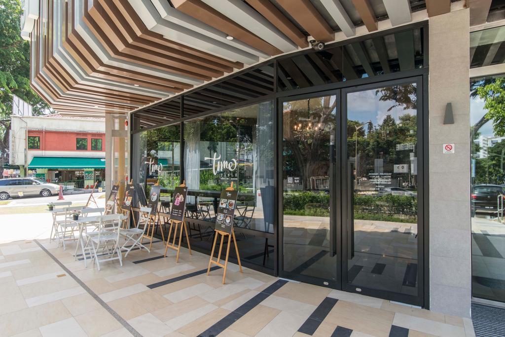 East Village, Commercial, Interior Designer, De Exclusive Design Group, Contemporary, Patio, Pergola, Porch