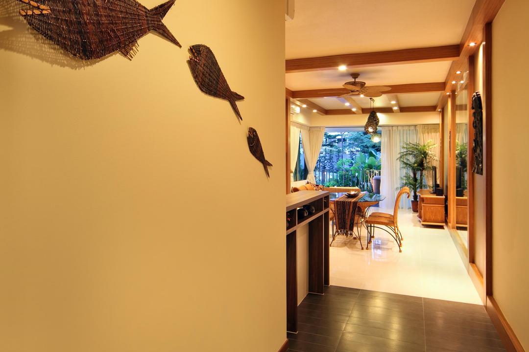 Double Bay Residences (Block 19B), De Exclusive Design Group, Contemporary, Condo, Animal, Bird, Wren, Flooring