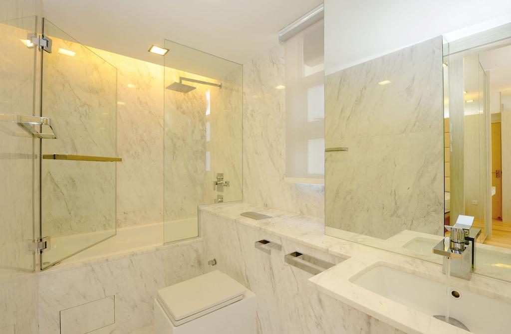 Modern, Condo, Bathroom, AVA Tower, Interior Designer, MyDesign Interiors, Indoors, Interior Design, Room