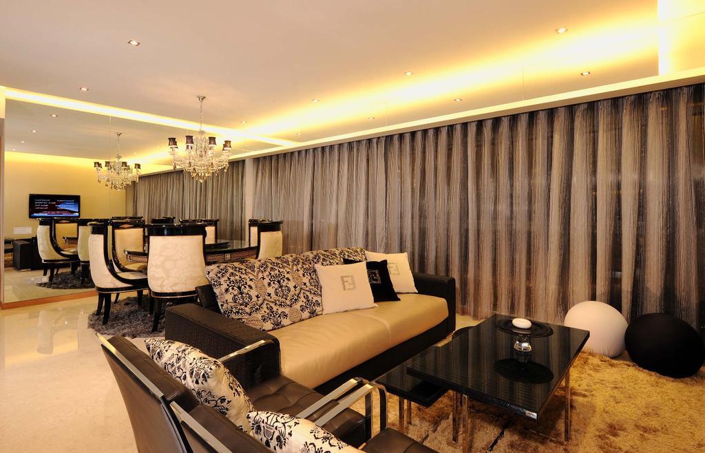 Contemporary, Condo, Living Room, Icon, Interior Designer, MyDesign Interiors, Couch, Furniture, Indoors, Room