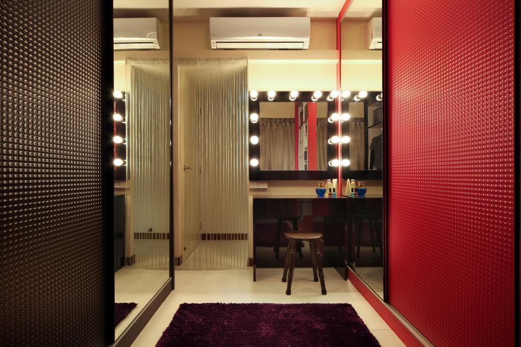 Contemporary, HDB, Bedroom, Compassvale Lane (Block 211D), Interior Designer, De Exclusive Design Group
