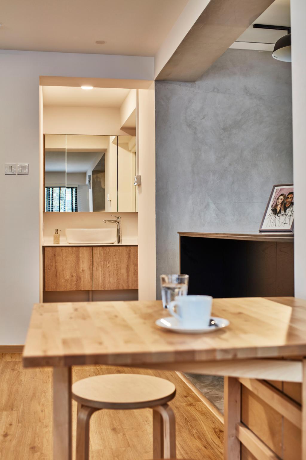 Contemporary, HDB, Dining Room, Pasir Ris Street 12 (Block 191), Interior Designer, Voila, Indoors, Interior Design