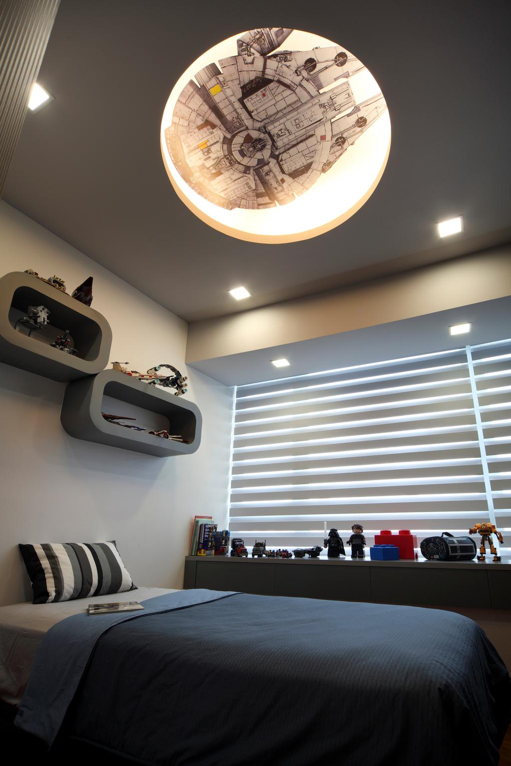 Modern, Condo, Bedroom, Clover by the Park, Interior Designer, De Exclusive Design Group