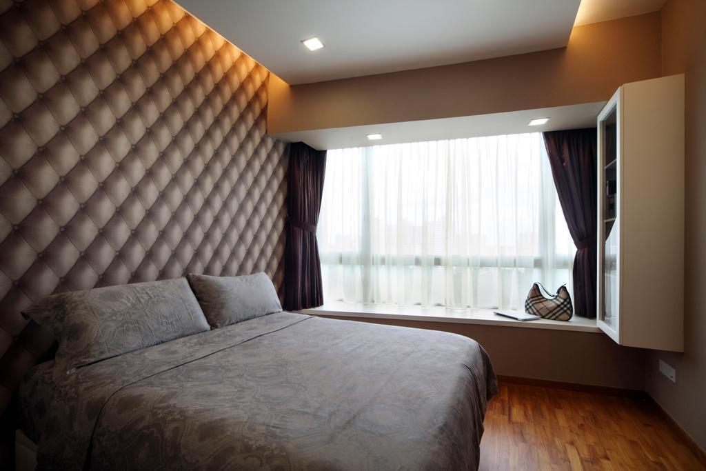 Modern, Condo, Bedroom, Clover by the Park, Interior Designer, De Exclusive Design Group, Indoors, Interior Design, Room