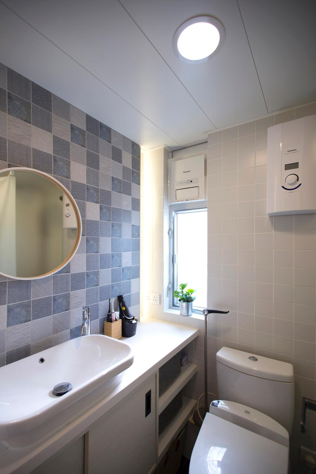 過渡時期, 私家樓, 浴室, 珍珠閣, 室內設計師, am PLUS, 傳統, Indoors, Interior Design, Room