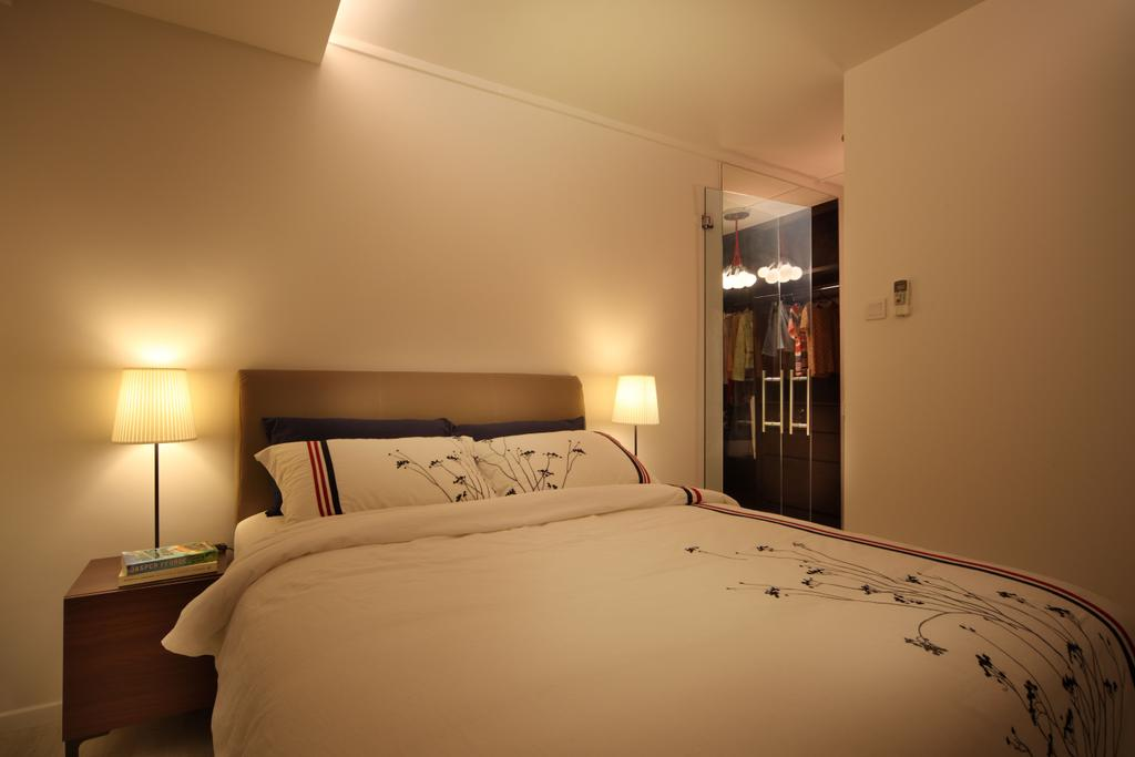 Contemporary, HDB, Bedroom, Bishan (Block 196), Interior Designer, De Exclusive Design Group, Bed, Furniture, Indoors, Interior Design, Room
