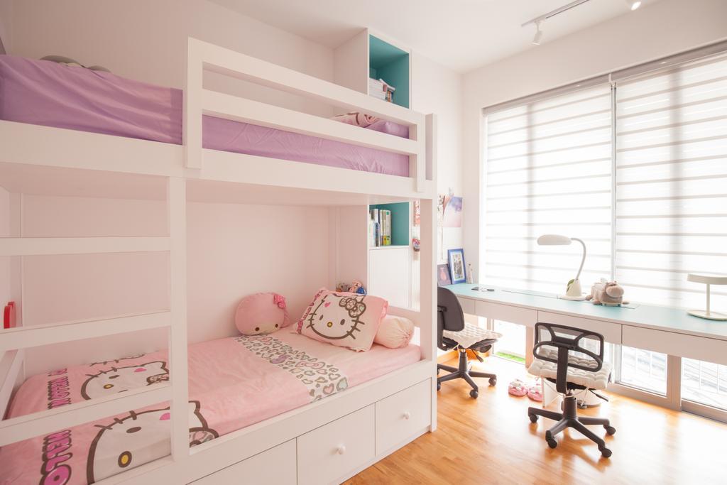 Modern, Condo, Bedroom, Sky Habitat, Interior Designer, Charlotte's Carpentry, Dining Table, Furniture, Table, Indoors, Interior Design