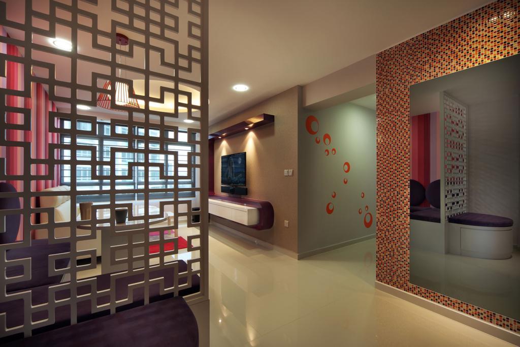 Traditional, HDB, Living Room, Bendemeer Road (Block 38B), Interior Designer, De Exclusive Design Group