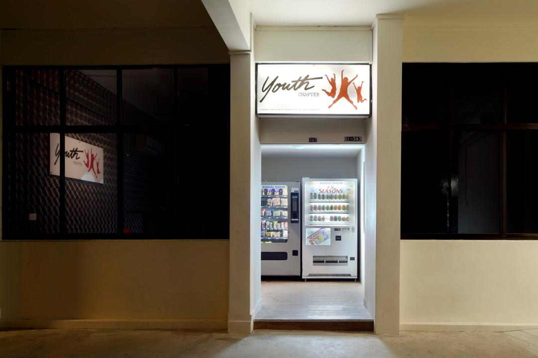Youth Chapter, De Exclusive Design Group, Traditional, Commercial, Atm, Cash Machine, Machine