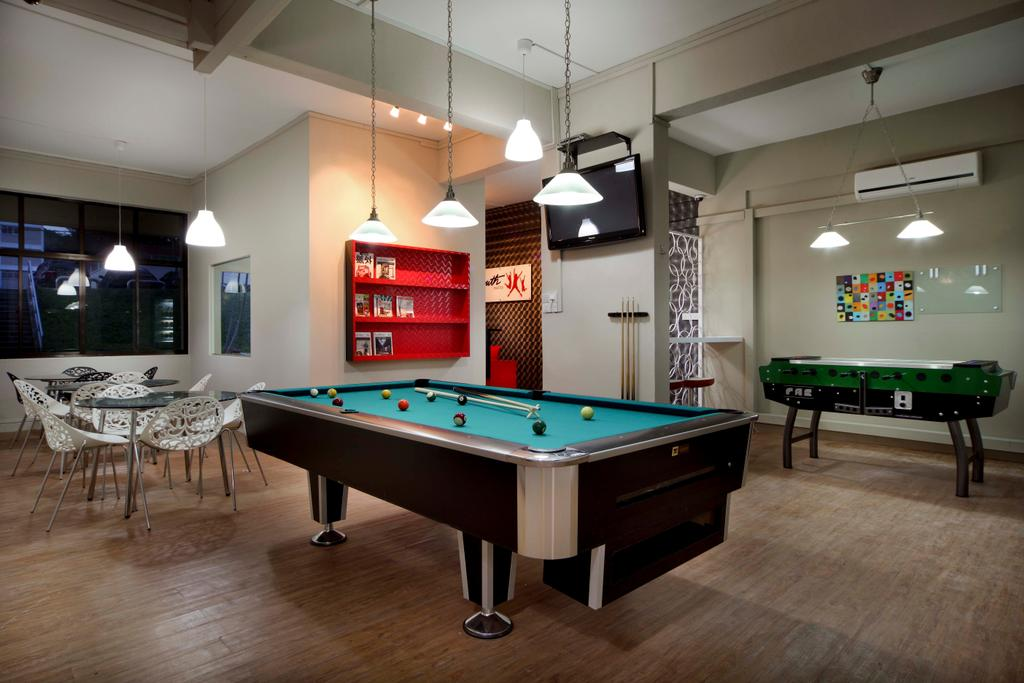 Youth Chapter, Commercial, Interior Designer, De Exclusive Design Group, Traditional, Billiard Room, Furniture, Indoors, Pool Table, Room, Table, Dining Table