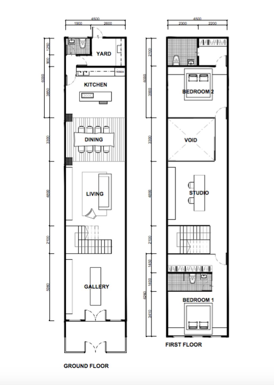 Modern, Landed, 42 Jalan Irrawaddy, Interior Designer, Nevermore Group, Diagram, Floor Plan, Plan