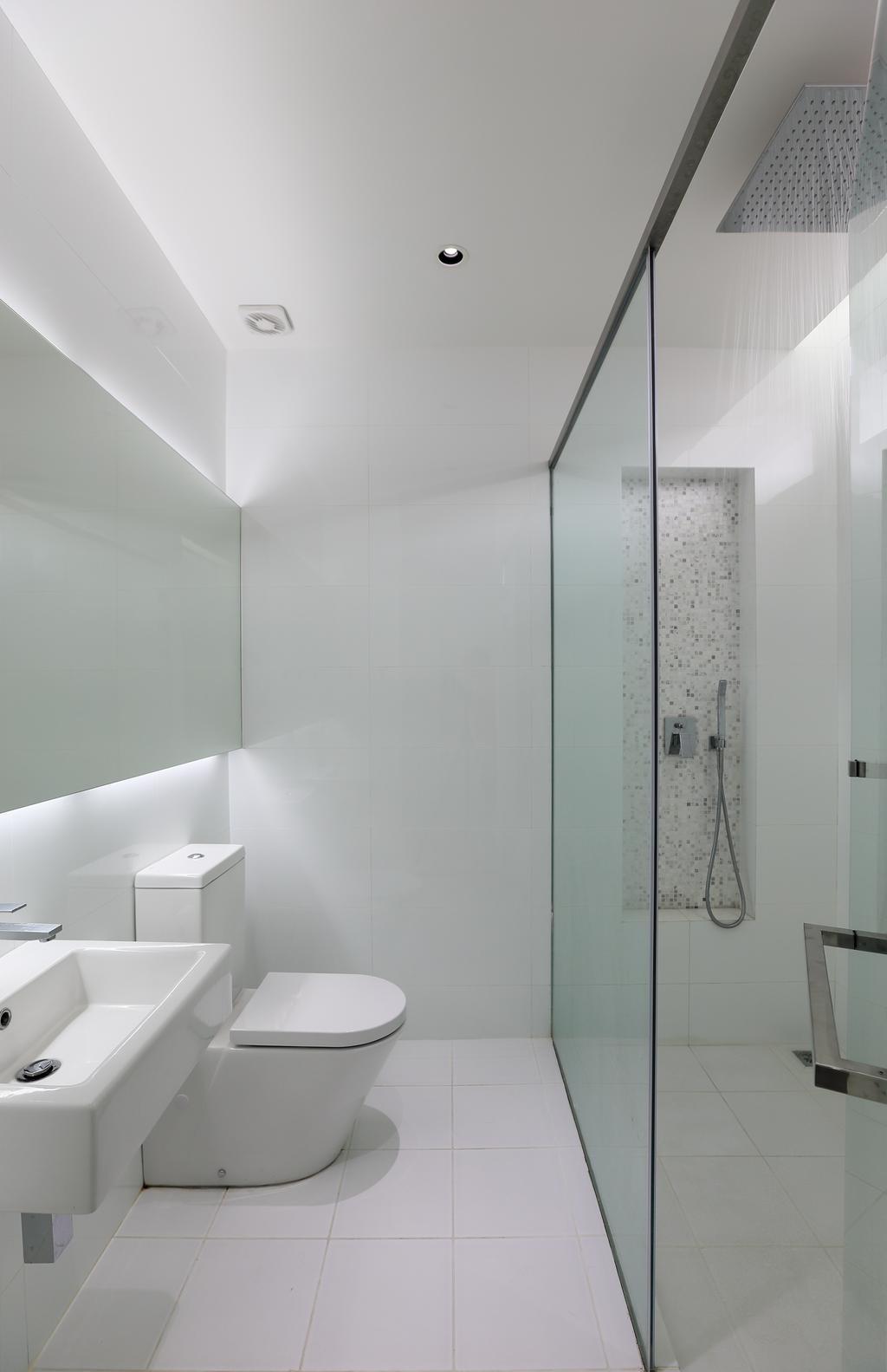 Modern, Landed, Bathroom, 42 Jalan Irrawaddy, Interior Designer, Nevermore Group, Indoors, Interior Design, Room