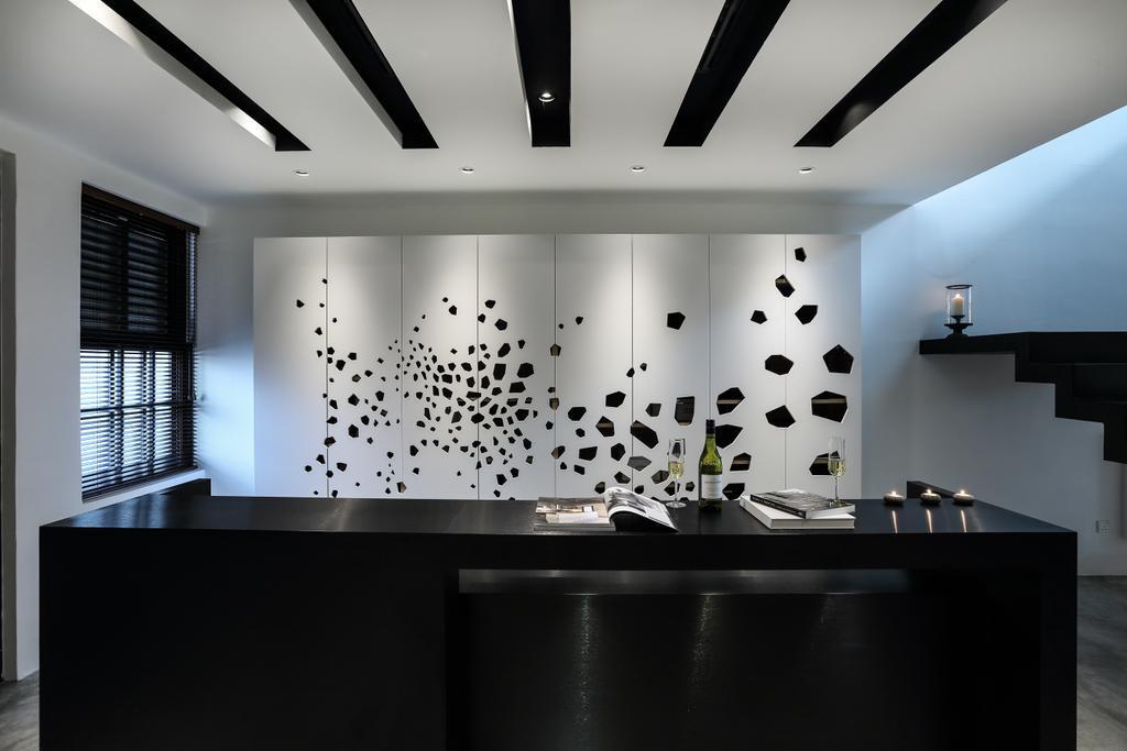 Modern, Landed, Dining Room, 42 Jalan Irrawaddy, Interior Designer, Nevermore Group
