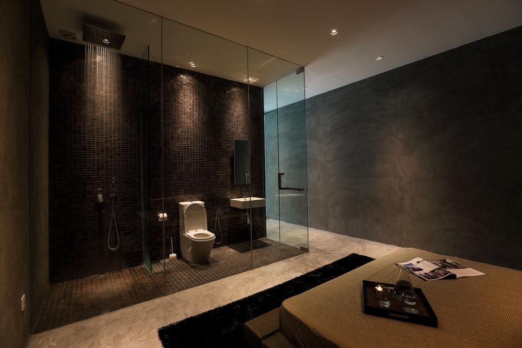 Modern, Landed, Bathroom, 42 Jalan Irrawaddy, Interior Designer, Nevermore Group