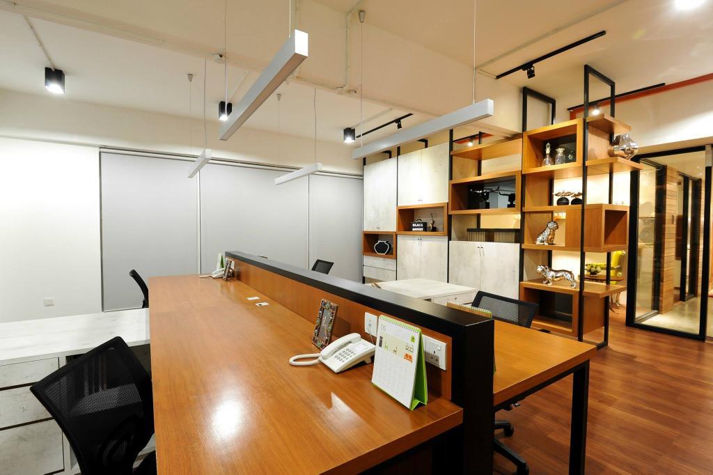 Showroom, Commercial, Interior Designer, M innovative Builders